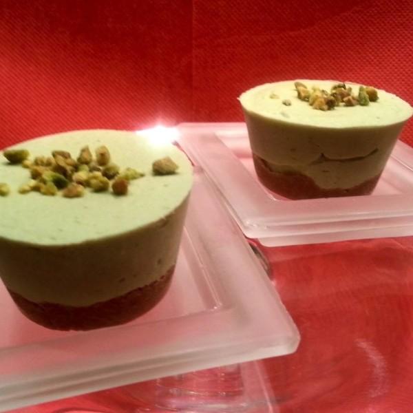 briciole golose-cheesecake-alpistacchio-monoporzione